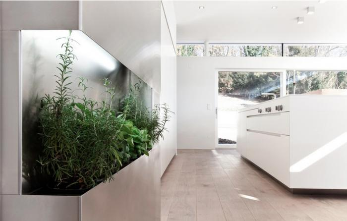 Modern Kitchen With Built In Herb Garden Coco Lapine