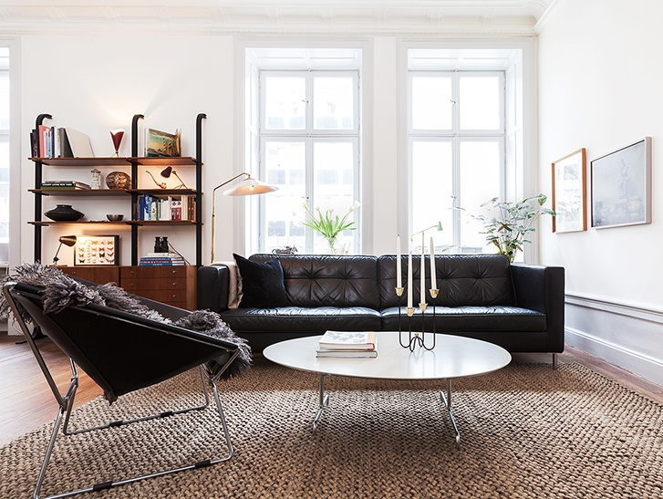 mid century modern home in stockholm coco lapine