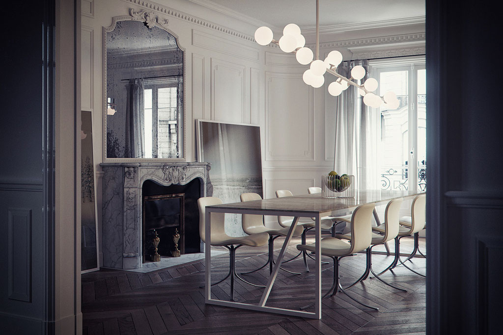 Gorgeous 3d by bertrand benoit coco lapine designcoco for Decoration interieur haussmannien
