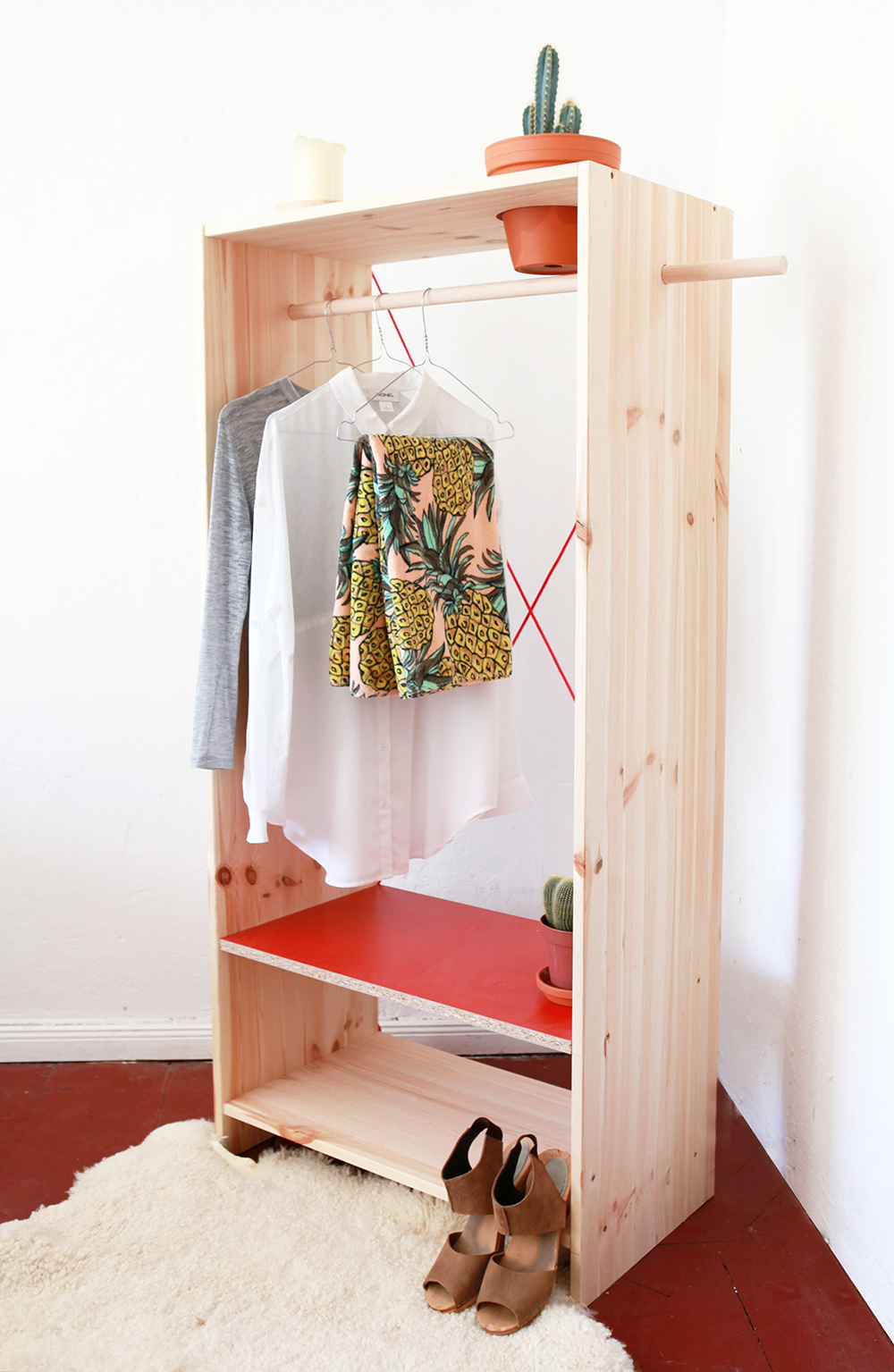 Diy planter closet coco lapine designcoco lapine design for Garderobe como