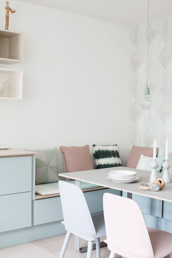 Pastel kitchen - via Coco Lapine Design