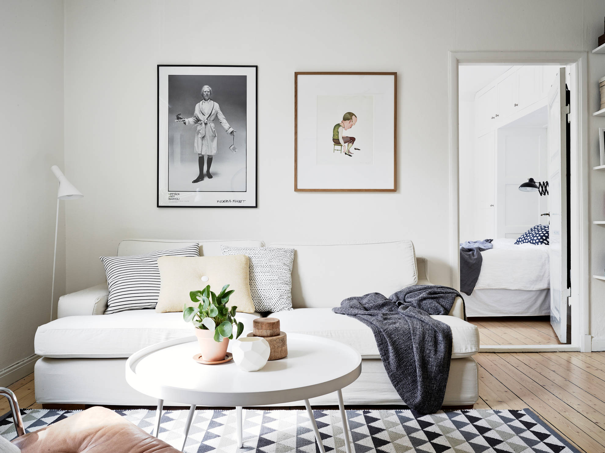 Bike in the living room coco lapine designcoco lapine design - Deco scandinave ikea ...
