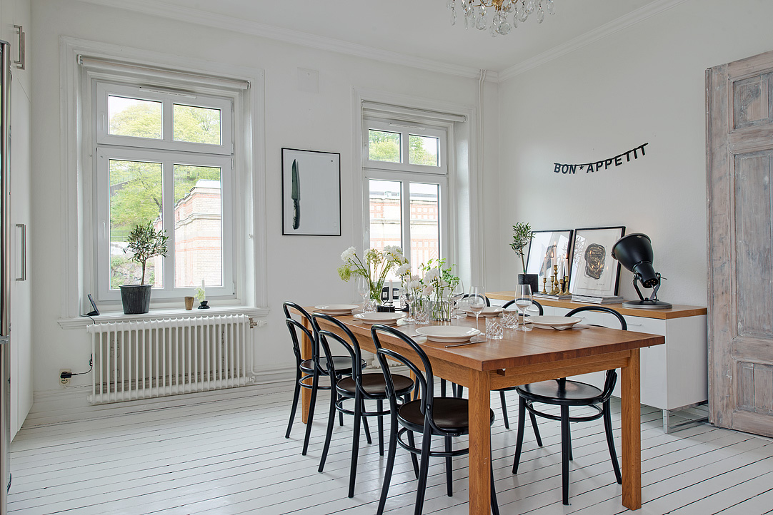Dielenboden Weiß kitchen as a meeting place coco lapine designcoco lapine design