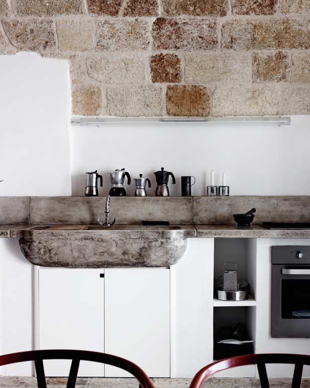 Kitchen Design Italy: Italian Kitchen By The Water
