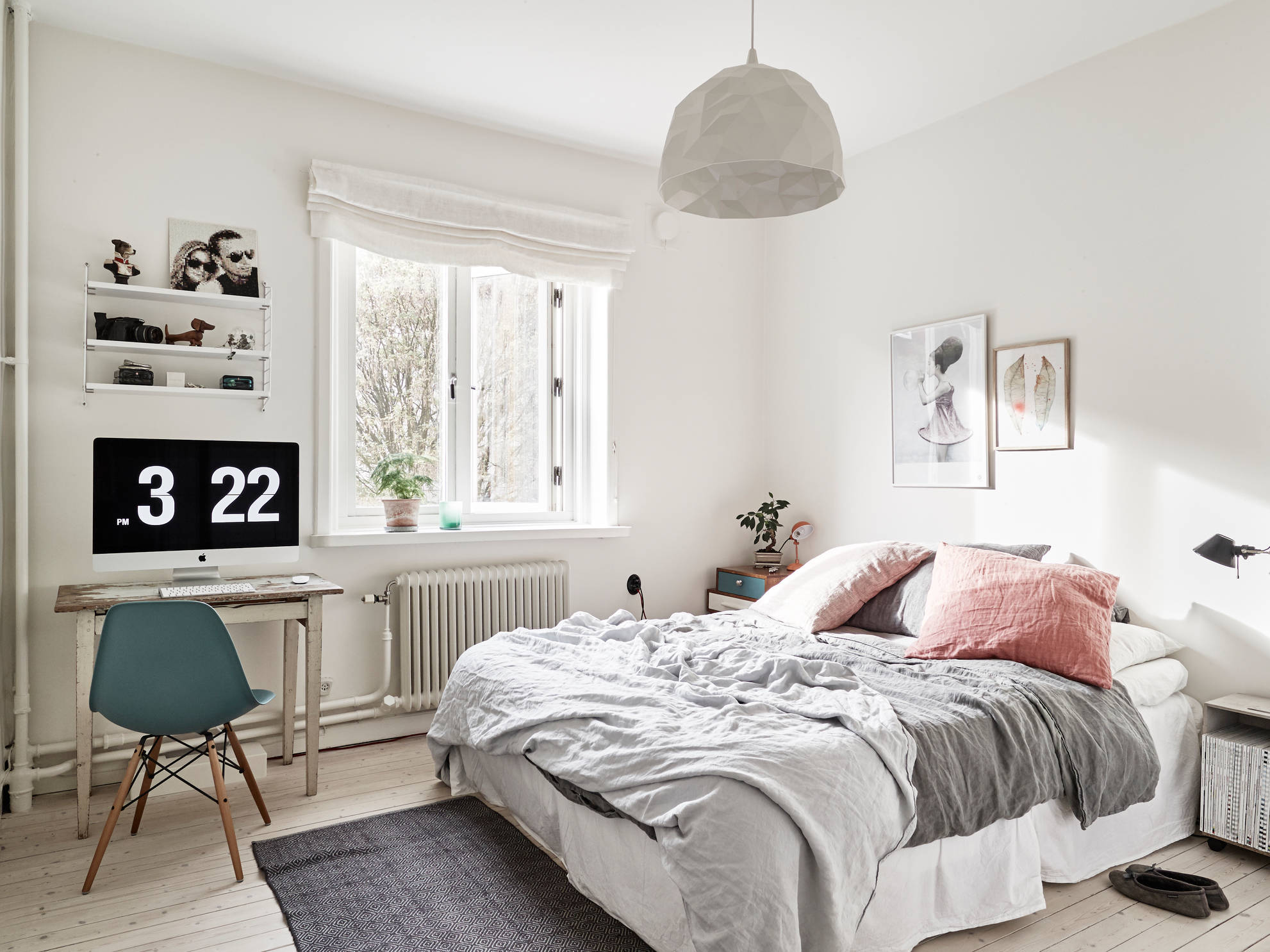 Dreamy bedroom and vintage elements coco lapine for Idee deco chambre beige et blanc