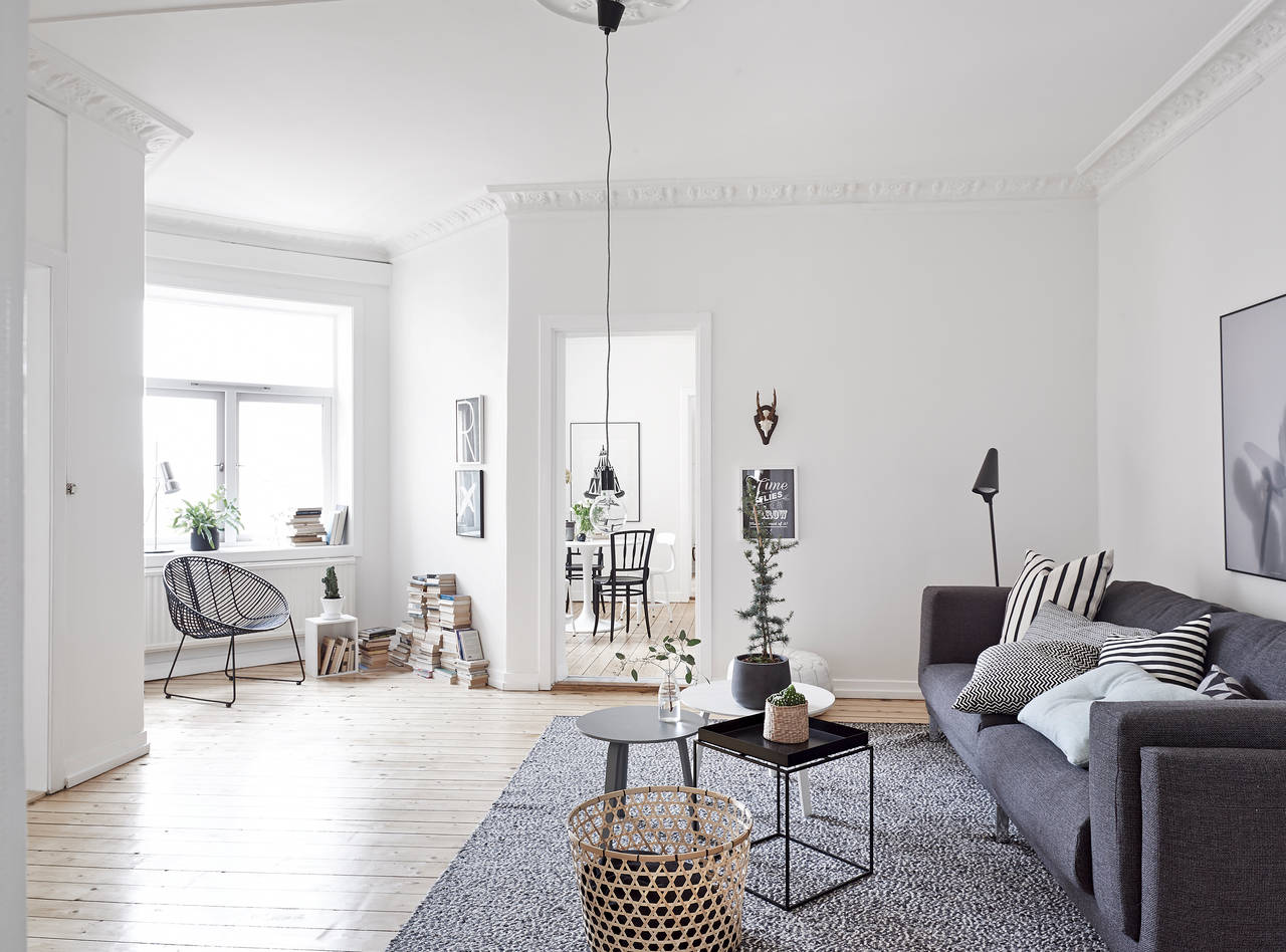 Home with soft colors and a hint of christmas coco for Licht interieur