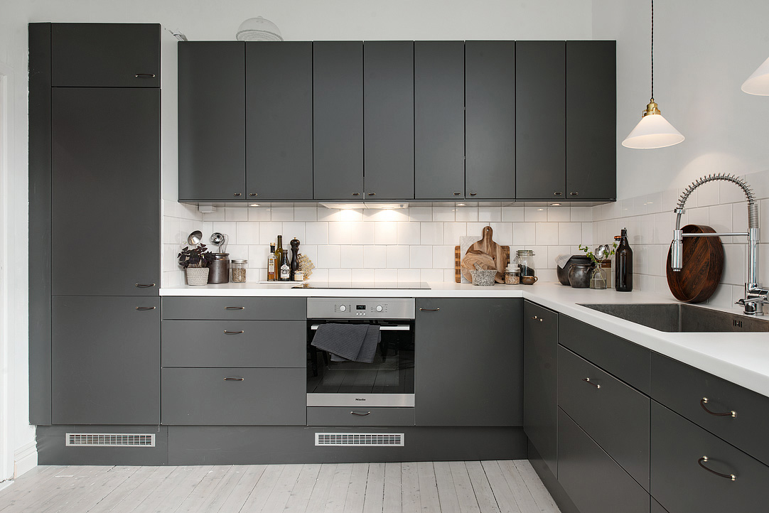 Dark Grey Kitchen Coco Lapine Designcoco Lapine Design