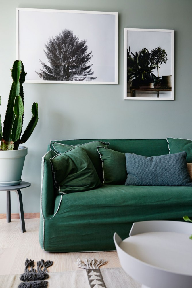 All green home - COCO LAPINE DESIGNCOCO LAPINE DESIGN