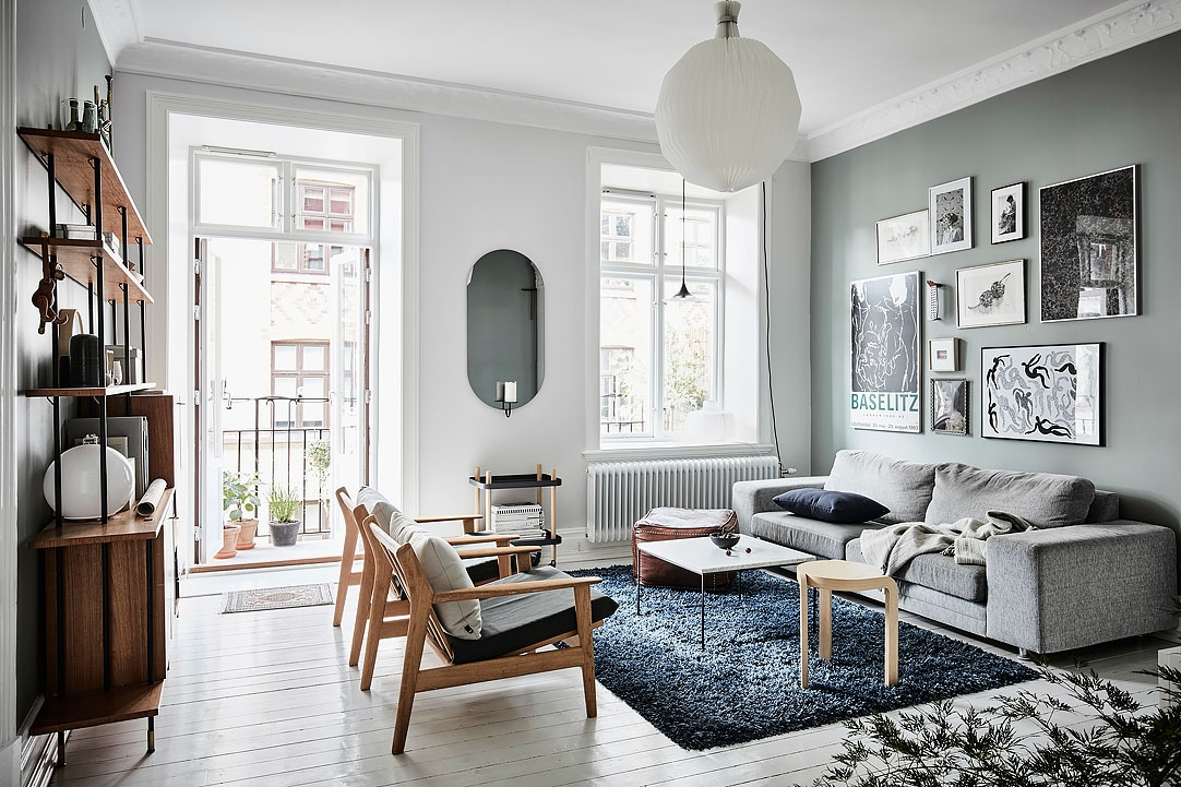 Crisp Home With Painted Walls Coco Lapine Designcoco