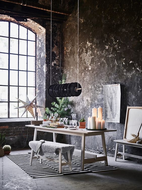 nyc christmas loft coco lapine designcoco lapine design. Black Bedroom Furniture Sets. Home Design Ideas