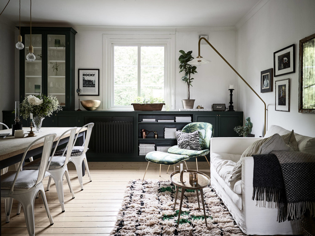 Amazing built in window shelf coco lapine designcoco for Landelijk interieur woonkamer