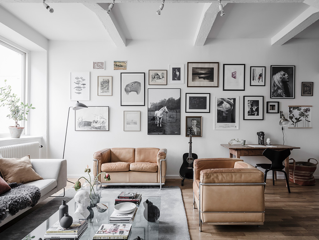 Bright Living Room With An Industrial Touch Coco Lapine