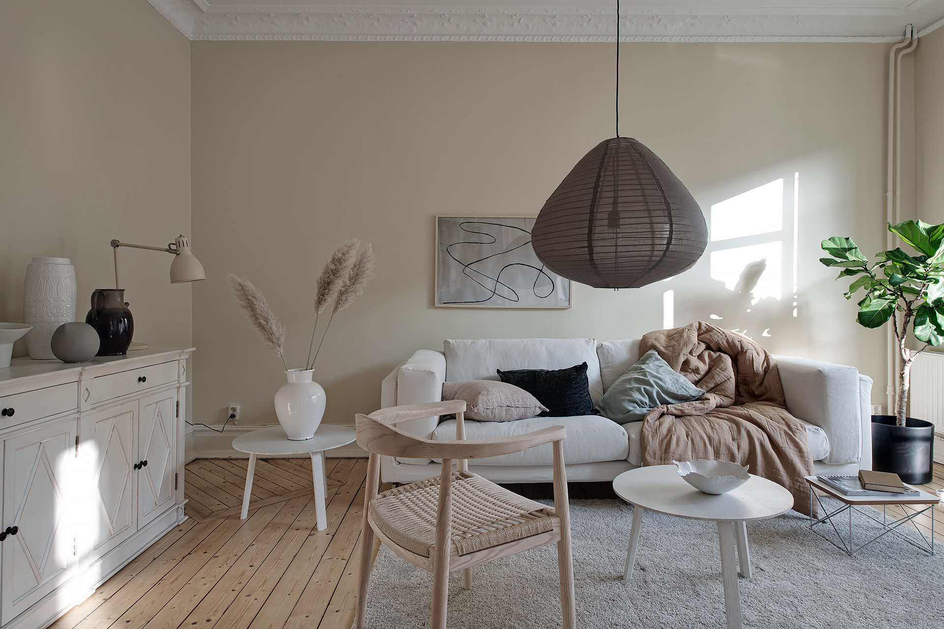 Living Room In A Light Beige Palette Coco Lapine