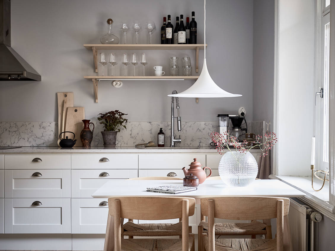 Beautiful Grey Home Soft Pink Touch Coco Lapine Designcoco Design