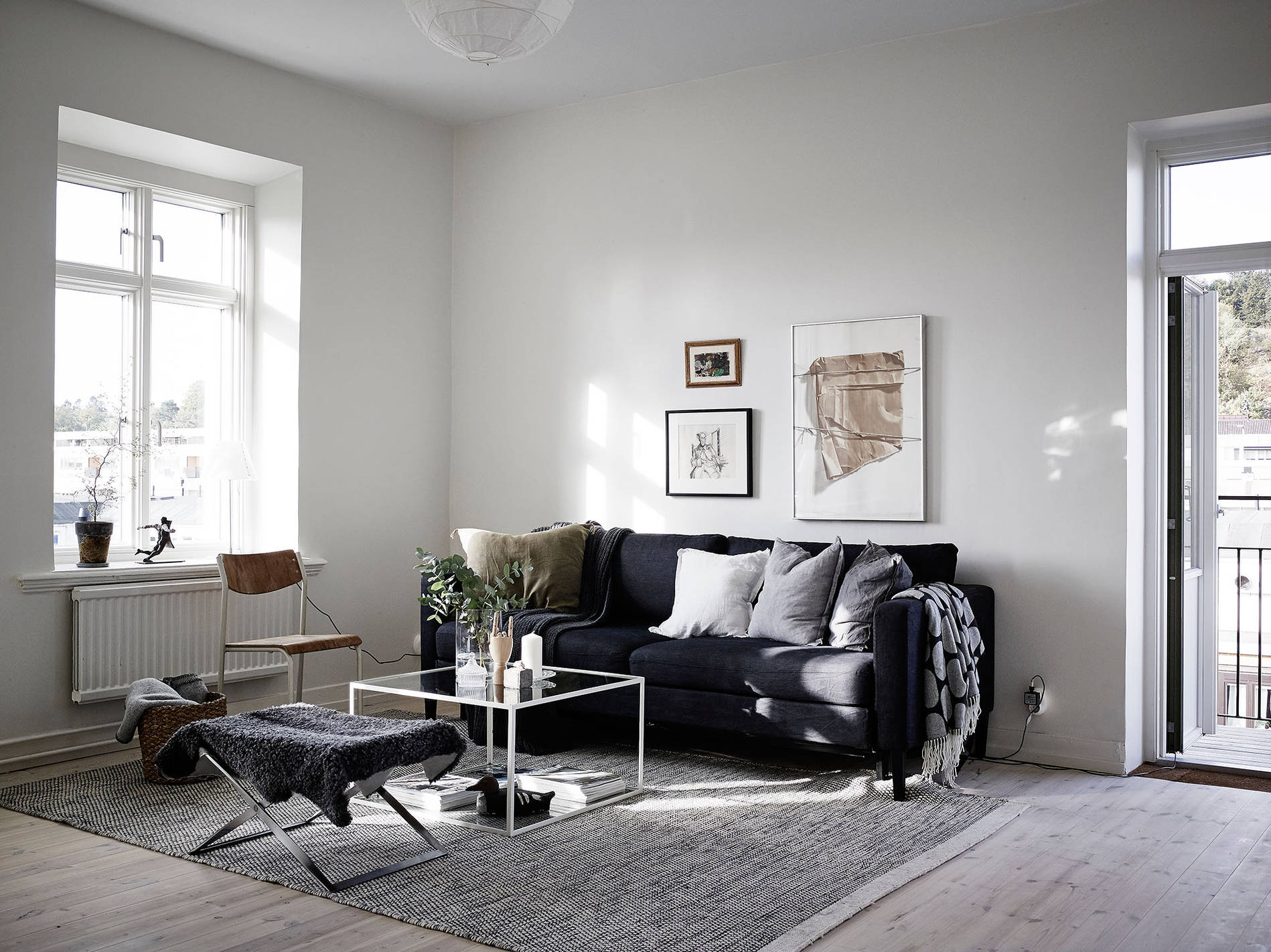 in the living room simple and cozy coco lapine designcoco lapine design 12530