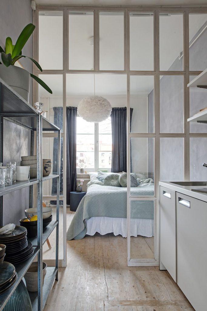Adjacent Bedroom And Kitchen Coco Lapine Designcoco